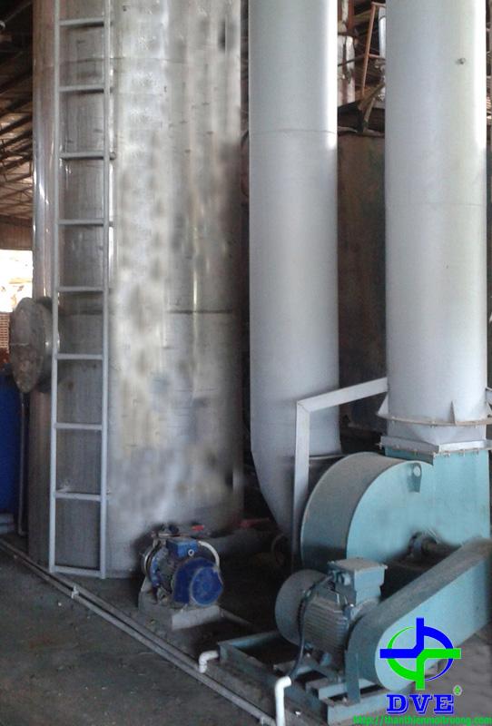 Hệ thống xử lý khí thải lò hơi