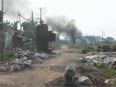 Ô nhiễm tại các làng nghề