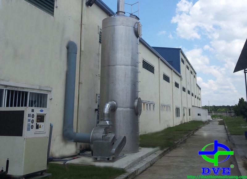 Hệ thống xử lý khí thải xi mạ
