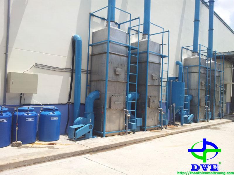 Hệ thống xử lý khí thải buồng sơn