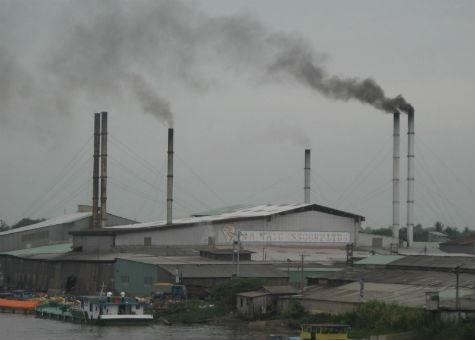 ô nhiễm tại các khu công nghiệp