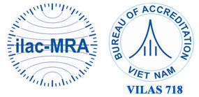 Chứng nhận VILAS 718